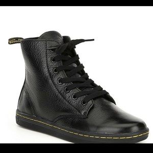 Dr MARTENS Leyton Boot Ankle Black Size 10